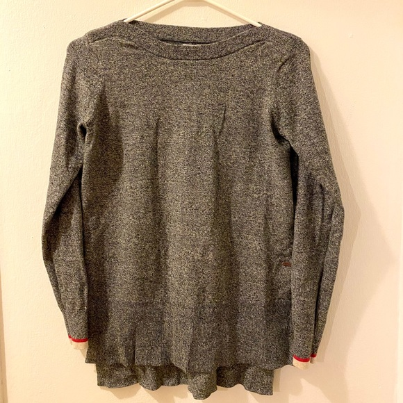 Roots thin long sweater